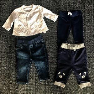 (Price drop)Baby boy set size assorted 0-6m